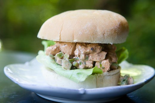 Cajun Chicken Salad Sandwich